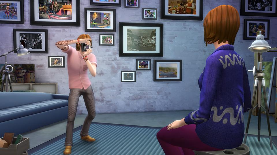 Die Sims 4 - An die Arbeit-Addon erscheint im März für PS4 & Xbox One