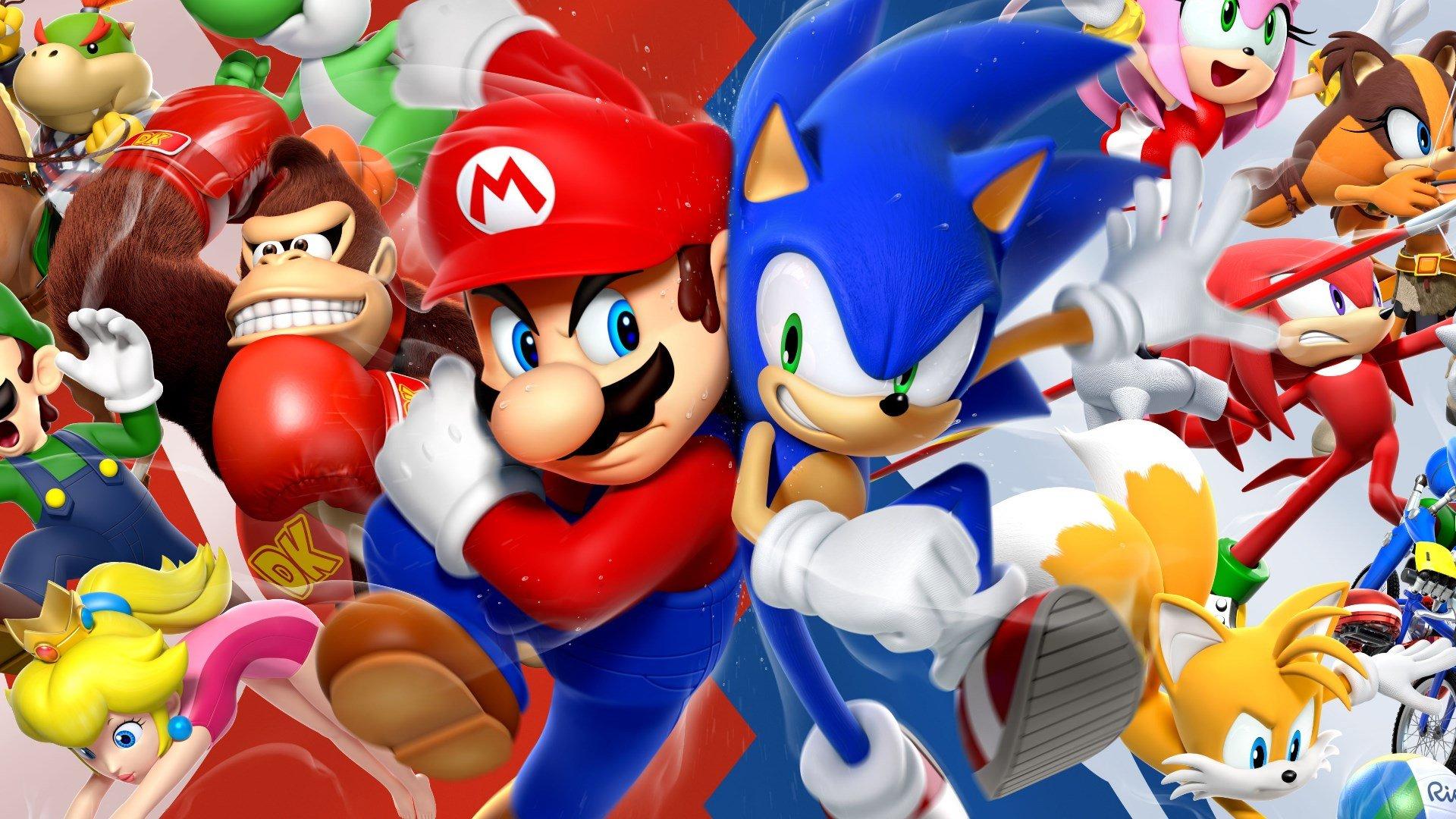 Test Mario Sonic Bei Den Olympischen Spielen Rio 2016